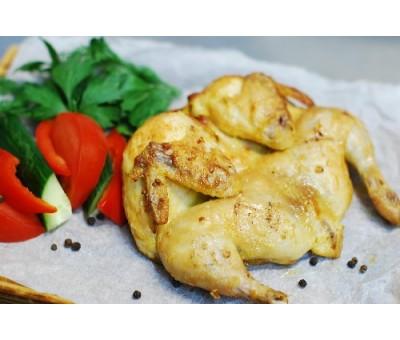 Цыпленок-корнишон с бэби-картофелем