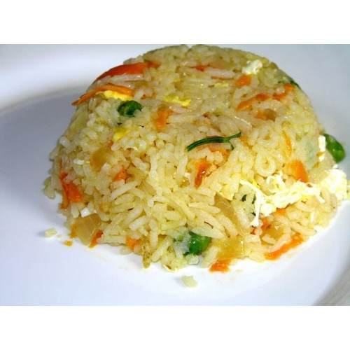 Рецепт рис с овощами в поларис